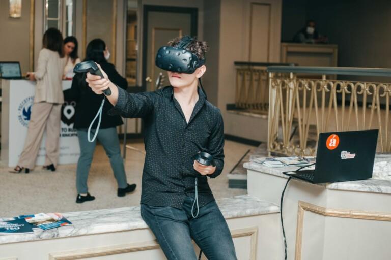 Сеанс виртуальной реальности
